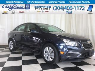 Used 2015 Chevrolet Cruze * 1LT Sedan * REMOTE START * WARRANTY REMAINING * for sale in Portage la Prairie, MB
