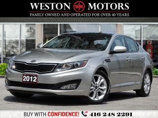Used 2012 Kia Optima EX*LUXURY*REV CAM*BTOOTH*LEATHER*PAN SUNROOF!!* for sale in Toronto, ON