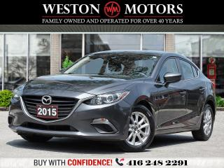 Used 2015 Mazda MAZDA3 GS*REV CAM*BTOOTH*PWR GRP*ONLY 94KMS!!* for sale in Toronto, ON