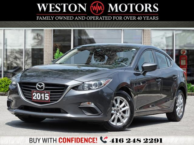 2015 Mazda MAZDA3 GS*REV CAM*BTOOTH*PWR GRP*ONLY 94KMS!!*