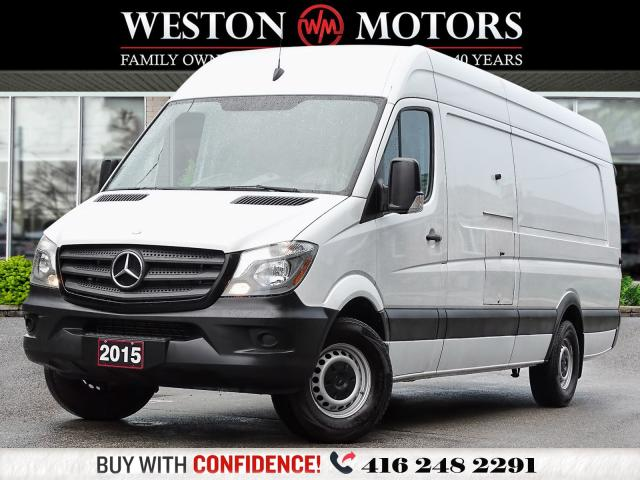 2015 Mercedes-Benz Sprinter 3500*DBL EXT*HIGH ROOF*REV CAM*WOW ONLY 14KMS!!