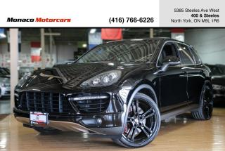 Used 2013 Porsche Cayenne TURBO 4.8L V8 - PANO|NAVI|BACKUP|BLINDSPOT|BOSE for sale in North York, ON