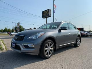 Used 2016 Infiniti QX50 Luxury * AWD * Leather * Backup Camera * Heated Seats * for sale in London, ON