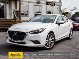 Used 2017 Mazda MAZDA3 GT NAV HUDS LEATHER BK.CAM W0W!! for sale in Ottawa, ON