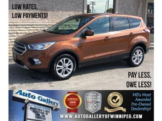 Used 2017 Ford Escape SE *Htd Sts/B.tooth/Back.Cam for sale in Winnipeg, MB