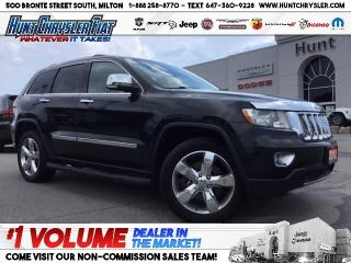 Used 2012 Jeep Grand Cherokee OVERLAND | HEMI | TOW | NAV | 20s | LOADED!!! for sale in Milton, ON