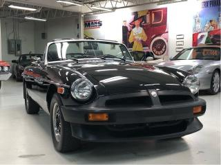 Used 1979 MG MGB Roadster Limited Edition w OverDrive for sale in Paris, ON