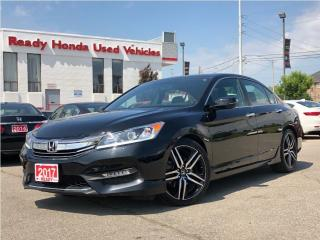 Used 2017 Honda Accord Sedan Sport - Lane Watch - Rear Camera - RARE! for sale in Mississauga, ON