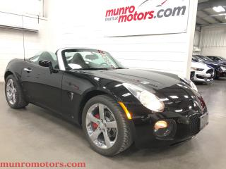 Used 2008 Pontiac Solstice GXP Leather Chrome Wheels 260 HP for sale in St. George Brant, ON