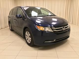 Used 2015 Honda Odyssey EX-L w/Nav for sale in Calgary, AB