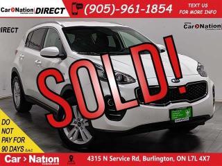 Used 2019 Kia Sportage LX  AWD  BACK UP CAMERA  HEATED SEATS  for sale in Burlington, ON