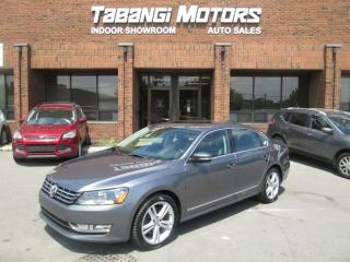 Used 2013 Volkswagen Passat TDI | LEATHER | SUNROOF | HEATED SEATS | BLUETOOTH for sale in Mississauga, ON