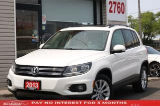 Used 2013 Volkswagen Tiguan 2.0L TSI 4Motion, Panoramic, Leather, Bluetooth for sale in Toronto, ON