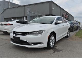 Used 2015 Chrysler 200 C|LEATHER|NAVI|BACK CAM|PUSH START for sale in Brampton, ON