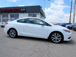 Used 2012 Honda Civic Si Coupe 6-Speed Manual Navi Certified 2012 Honda Civic Si Coupe 6-Speed Manual Navi Certified 2YR Warranty for sale in Milton, ON