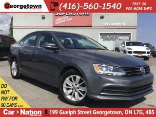 Used 2015 Volkswagen Jetta 2.0L Trendline | 5 SPEED | ALLOYS | ROOF | BU CAM for sale in Georgetown, ON