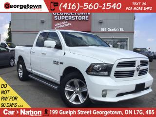 Used 2014 RAM 1500 Sport 5.7 HEMI | 4X4 | TOW PKG |BOX LINER|6'4 BOX for sale in Georgetown, ON