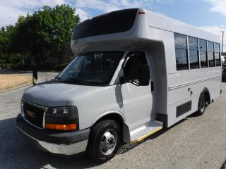Used 2009 GMC Savana G3500 12 Passenger Bus Duramax Diesel with Wheelchair Accessibility for sale in Burnaby, BC