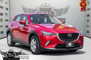 Used 2016 Mazda CX-3 GS, BACK-UP CAM, SUNROOF, LEATHER, PUSH START, ALLOY for sale in Toronto, ON
