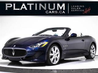 Used 2014 Maserati GranTurismo Sport Convertible 4.7L, V8, 454HP, NAV for sale in Toronto, ON