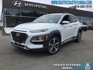 Used 2019 Hyundai KONA 1.6T Ultimate AWD  - Leather Seats - $189 B/W for sale in Simcoe, ON