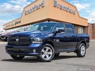 Used 2017 RAM 1500 Sport  - Bluetooth -  SiriusXM -  Fog Lamps - $245.37 B/W for sale in Brantford, ON