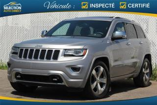 Used 2014 Jeep Grand Cherokee Overland AWD for sale in Ste-Rose, QC