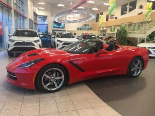 Used 2014 Chevrolet Corvette Lt3, Navigation for sale in St-Hubert, QC