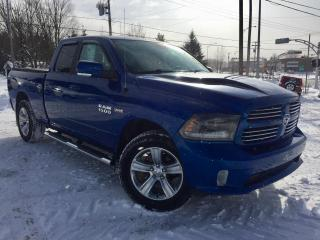 Used 2015 RAM 1500 SPORT QUAD CAB  ''GARANTIE PLAN OR'' for sale in Ste-Marie, QC