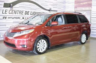 Used 2017 Toyota Sienna Xle+awd+toit+cuir+ma for sale in Laval, QC