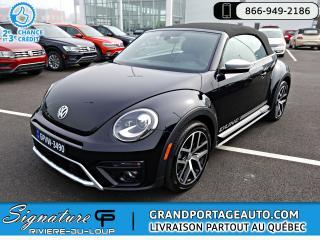 Used 2018 Volkswagen Beetle Dune BA for sale in Rivière-Du-Loup, QC