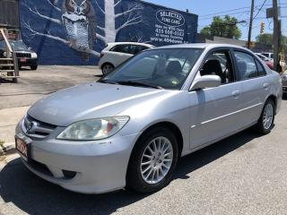Used 2004 Honda Civic Sdn LX for sale in Toronto, ON