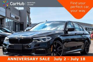 Used 2019 BMW 5 Series 540i xDrive M Sports Package Sunroof Heads Up Display Backup Camera Bluetooth GPS for sale in Thornhill, ON