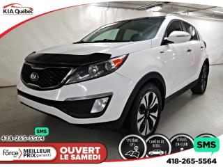 Used 2013 Kia Sportage SX* TURBO* AWD* GPS* TOIT PANO* CUIR* CAMERA* for sale in Québec, QC