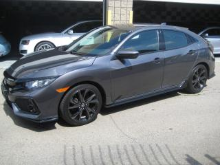 Used 2017 Honda Civic Hatchback Sport, Turbo, Heated Seats, Power Moonroof, R. Cam for sale in North York, ON