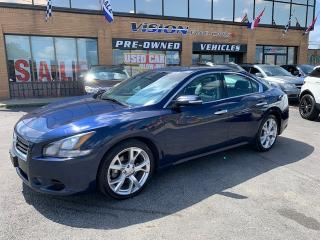 Used 2012 Nissan Maxima 2012 Nissan Maxima - 4dr Sdn CVT 3.5 SV for sale in North York, ON