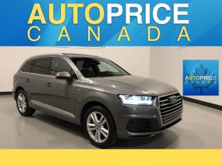 Used 2017 Audi Q7 3.0T Technik S-LINE|PANOROOF|NAVIGATION for sale in Mississauga, ON