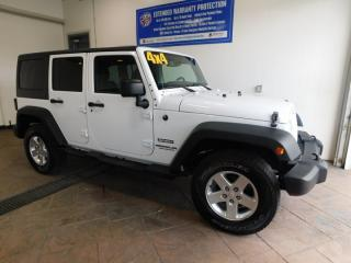 Used 2014 Jeep Wrangler UNLIMITED SPORT for sale in Listowel, ON
