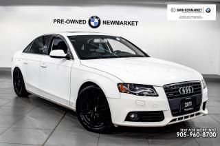 Used 2011 Audi A4 2.0T Prem Tiptronic qtro Sdn -CRUISE CONTROL| NAV for sale in Newmarket, ON