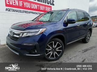 Used 2019 Honda Pilot Touring $246 BI-WEEKLY - $0 DOWN for sale in Cranbrook, BC