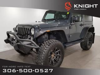 Used 2017 Jeep Wrangler Willys Wheeler for sale in Moose Jaw, SK