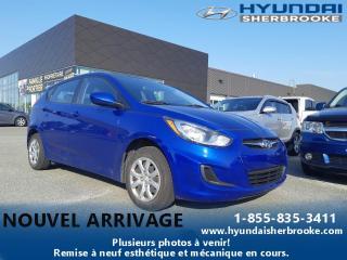 Used 2013 Hyundai Accent L+MANUELLE+LECTEUR CD+USB ET AUXILIAIRE for sale in Sherbrooke, QC