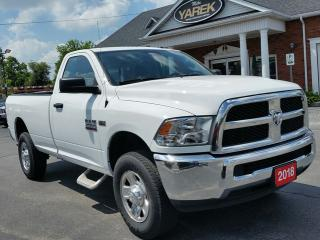 Used 2018 RAM 2500 SLT 4x4, Bluetooth, Trailer Brake Control, Remote Start for sale in Paris, ON