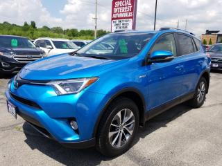 Used 2018 Toyota RAV4 Hybrid LE+ SUNROOF !!  AWD !!  BLUE TOOTH !! for sale in Cambridge, ON