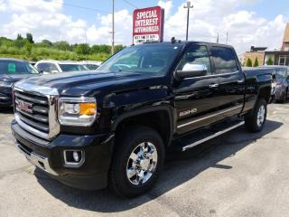 Used 2015 GMC Sierra 2500 HD SLT NAVIGATION !!  LEATHER !!  BLUE TOOTH !! for sale in Cambridge, ON