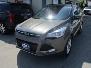 Used 2016 Ford Escape FOUR-WHEEL DRIVE SE MODEL 5 PASSENGER 1.6L - ECO-BOOST.. HEATED SEATS.. SYNC TECHNOLOGY.. BACK-UP CAMERA.. BLUETOOTH.. for sale in Bradford, ON