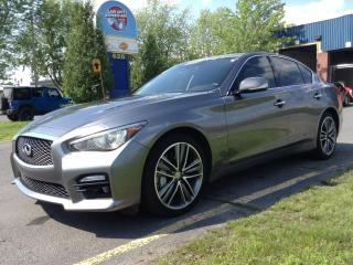Used 2017 Infiniti Q50 Sport for sale in Drummondville, QC