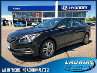 Used 2015 Hyundai Sonata GL Auto - Backup camera / Bluetooth for sale in Port Hope, ON