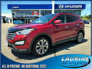 Used 2015 Hyundai Santa Fe Sport 2.0T AWD Limited - Loaded / Navigation for sale in Port Hope, ON