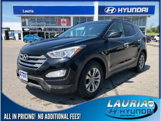 Used 2013 Hyundai Santa Fe Sport 2.4L FWD  -  Bluetooth / Heated seats for sale in Port Hope, ON